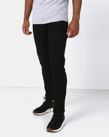 Utopia Basic Skinny Leg Jeans Black