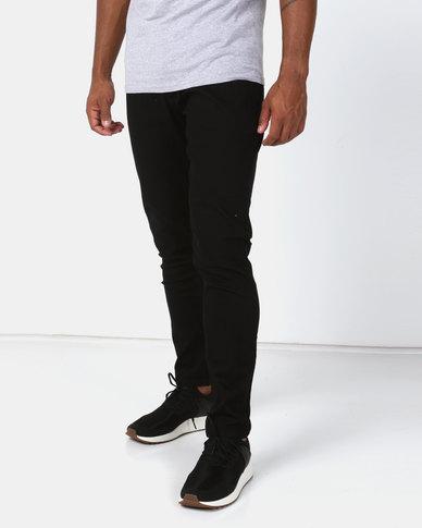 Utopia Basic Skinny Leg Jeans Black