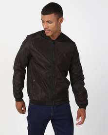 Utopia Lightweight Zip Thru Jacket Black
