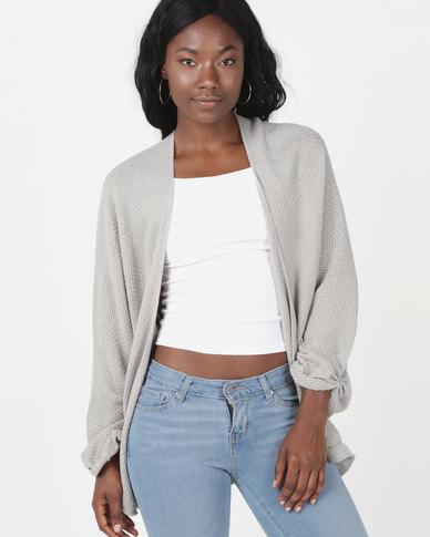 Utopia Knitwear Cardigan Grey