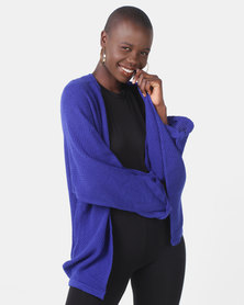 Utopia Knitwear Cardigan Cobalt