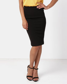 Paige Smith Bodycon Skirt Black