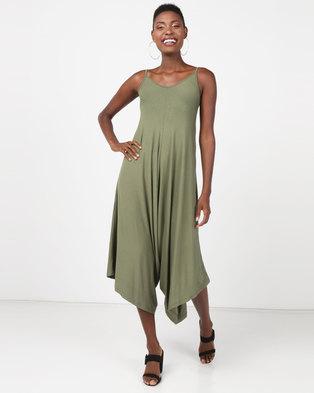 e4f58233b27b Utopia Knit Harem Jumpsuit Olive