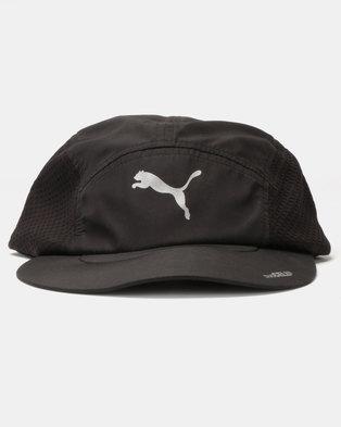 Puma Performance DuoCell Running Cap Black c9db8c0aff1