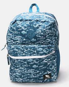 Lizzard  Burke Backpack Blue
