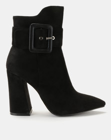 Courtney Cousins First Date Ankle Boots Black