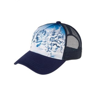 a17d621d2999f Pullin Trucker Cap Snow love Blue