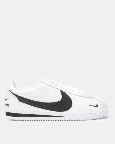 new style 70d9e 32411 Nike Classic Cortez Prem Sneakers White/Black