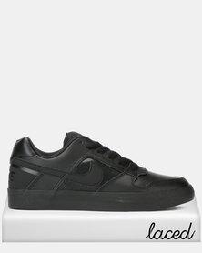 SB Delta Force Vulc Men's Skateboarding Shoes Black/Black-Anthracite