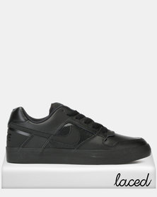 SB Delta Force Vulc Men's Skateboarding Shoes Black/Black-Anthracite