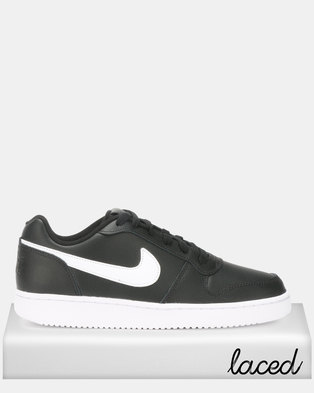 nike south africa online best price guaranteed zando  nike ebernon low sneakers black