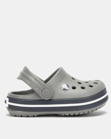 a622c83c724de Crocs Crocband Clog K Smoke/Navy