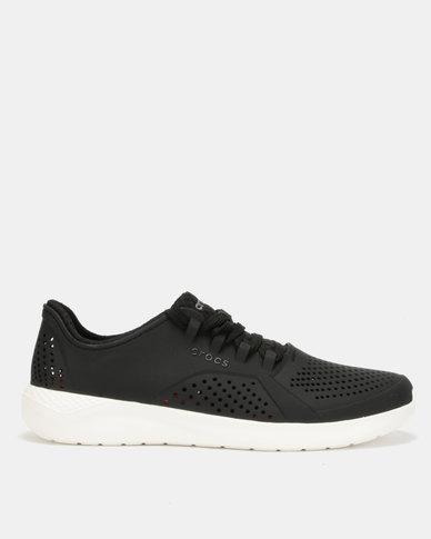 69b36dd326d5 Crocs LiteRide Pacer Black White