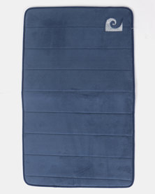Pierre Cardin Memory Foam Large Mat Blue