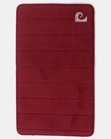 Pierre Cardin Memory Foam Large Mat Red