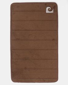 Pierre Cardin Memory Foam Large Mat Brown