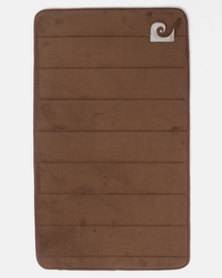 Pierre Cardin Memory Foam Large Mat Brown