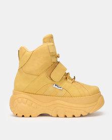 bc2cbc8db02 PLUM Block Rockstar Sneakers Mustard