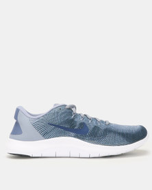 Nike Performance Flex Running Shoes 2018 Blue/White