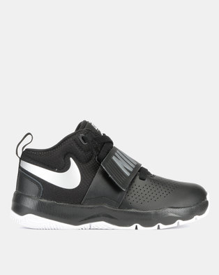 d00dbd571851 Nike Team Hustled 8 BP Sneakers Black