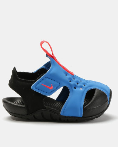 sale retailer 4eba2 6d303 Nike Sunray Protect 2 Sandals Blue   Zando