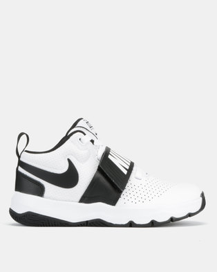 f244929627d Nike Team Hustle 8 BP Sneakers White Black