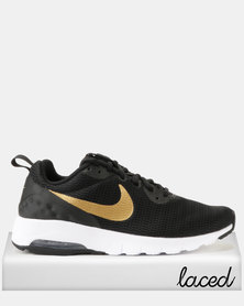 Nike Air Max Motion Sneakers LW Black/Metallic Gold