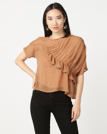 MARETHCOLLEEN Annabelle Blouse Stone