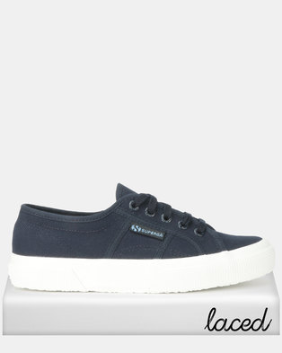 758ec9b04f86 Superga Classic Canvas Navy White
