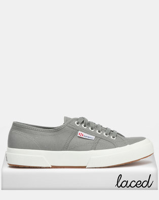 a95aed9197 Superga Classic Canvas Grey Sage