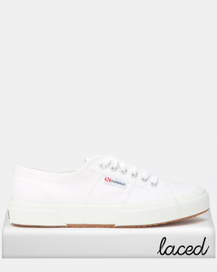 a4af1abc0eee NEW. Superga Classic Canvas White
