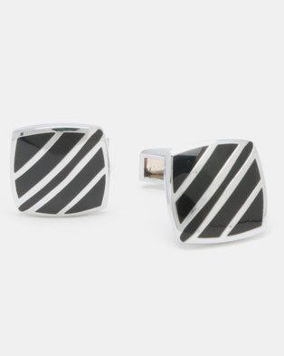 Xcalibur Square Cufflinks Multi