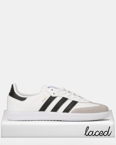 reputable site fd172 fe83d adidas Originals Samba OG J Sneakers WhiteBlack  Zando