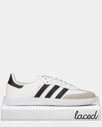 651b30ab80eb adidas Originals Samba OG J Sneakers White/Black