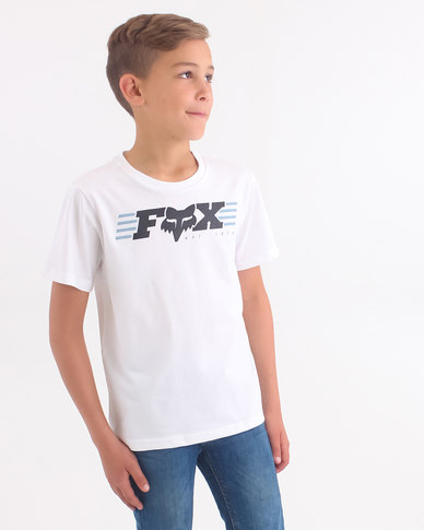 Fox Boys Muffler T-Shirt White