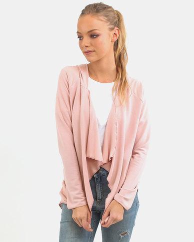 O'Neill Shredder Fleece Cardigan Pink