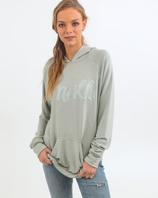 O'Neill State Fleece Pullover Hoodie Green