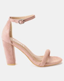 Utopia Sexy Barely There Sandals Pink