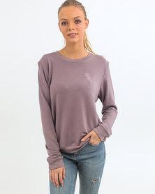 O'Neill Delicate Fleece Crew Sweater Pink