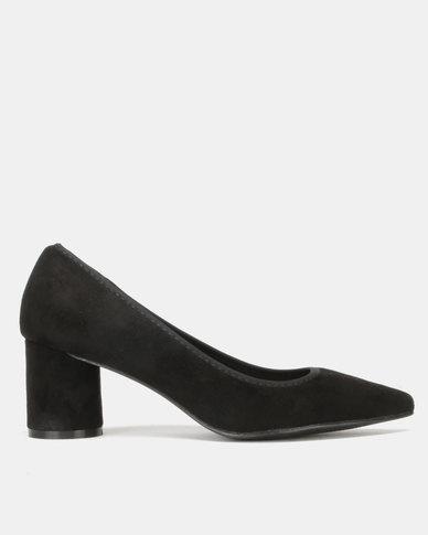 Utopia Cylindular Heel Courts Black