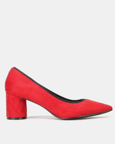 Utopia Cylindular Heel Courts Red