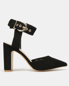 Utopia Ankle Strap Courts Black
