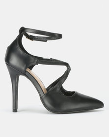Utopia Cross Strap Courts Black