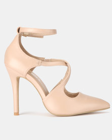 Utopia Cross Strap Courts Beige