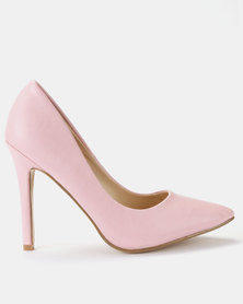 Utopia PU Pointy Courts Blush