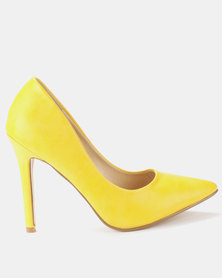 Utopia PU Pointy Courts Yellow