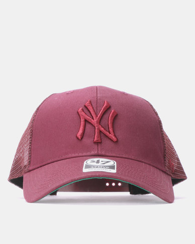 47 Brand MVP New York Yankees Branson Cap Maroon