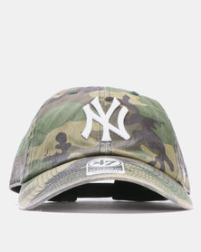 47 Brand MVP New York Yankees Clean Up Cap Camo