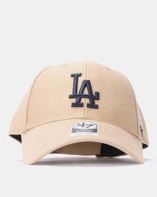 47 Brand MVP Los Angeles Cap Beige