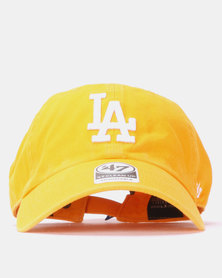 47 Brand Los Angeles Clean Up Cap Yellow